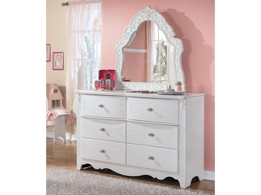 Signature Design by Ashley ExquisiteDresser & Bedroom Mirror