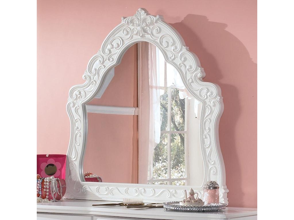 Lil Darling Ornate Arched Bedroom Mirror Rotmans Dresser Mirrors