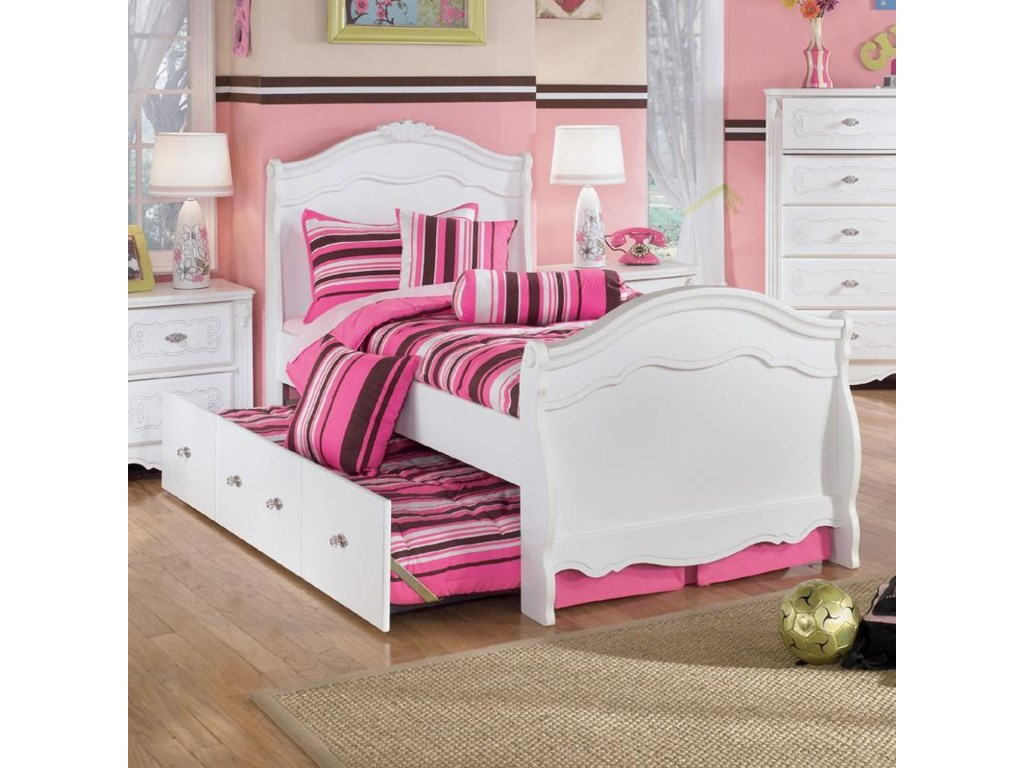 teen black oberon pc bed sleigh products sets bedroom twin