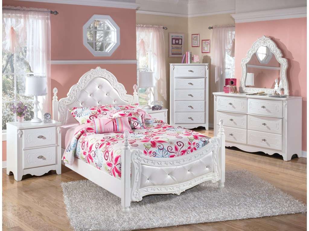 Signature Design by Ashley ExquisiteFull Poster Bed