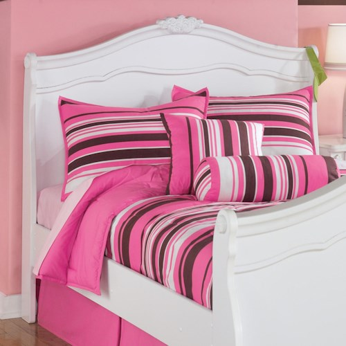 Signature Design by Ashley Exquisite Full Sleigh Headboard