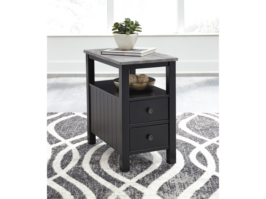 Signature Design by Ashley EzmoneiChair Side End Table
