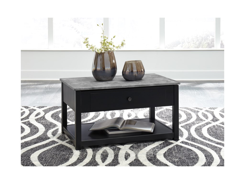 Signature Design by Ashley EzmoneiLift Top Cocktail Table