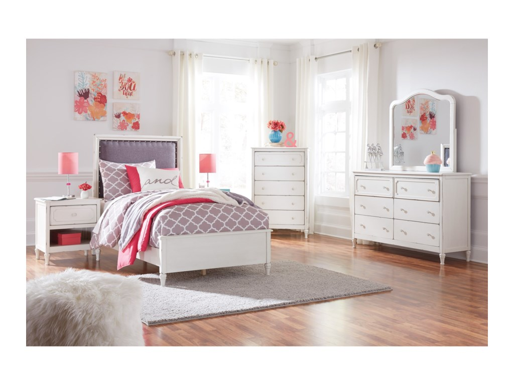 Signature Design by Ashley FaeleneTwin Bed Room Group