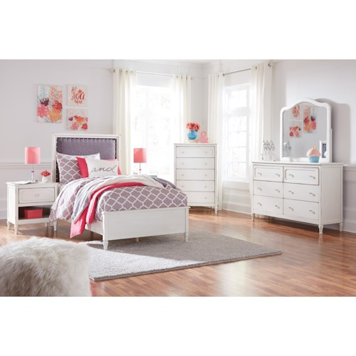 Signature Design by Ashley Faelene Twin Bed Room Group