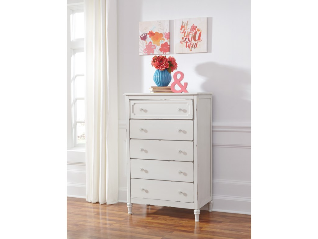 Signature Design by Ashley FaeleneFive Drawer Chest