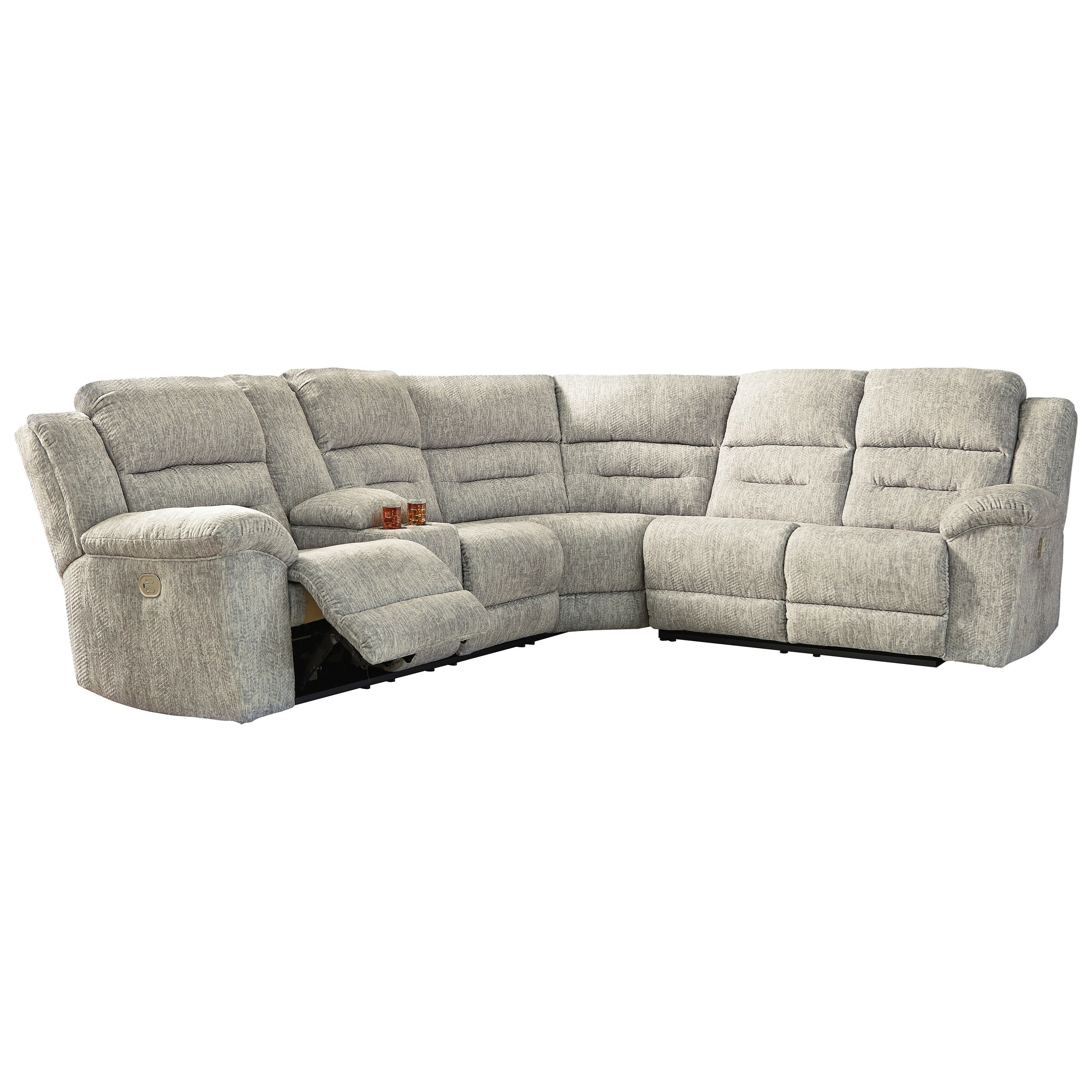 Signature Design By Ashley Family Den Power Reclining Sectional Royal Furniture Reclining Sectional Sofas