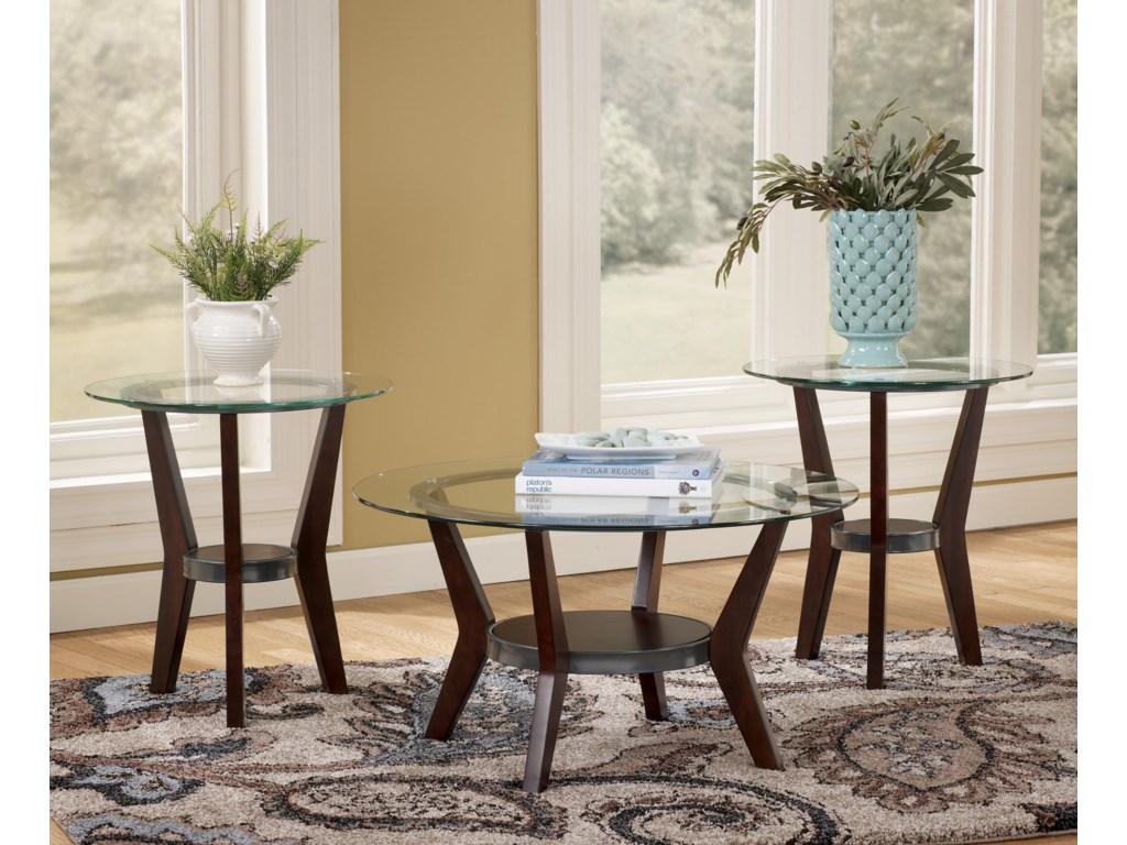 Signature Design by Ashley Fantell3-in-1 Group Occasional Tables