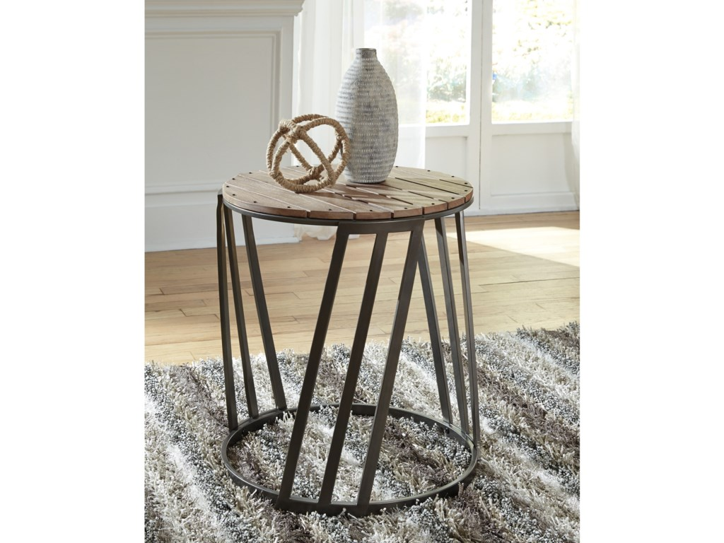 Signature Design by Ashley FathenzenRound End Table
