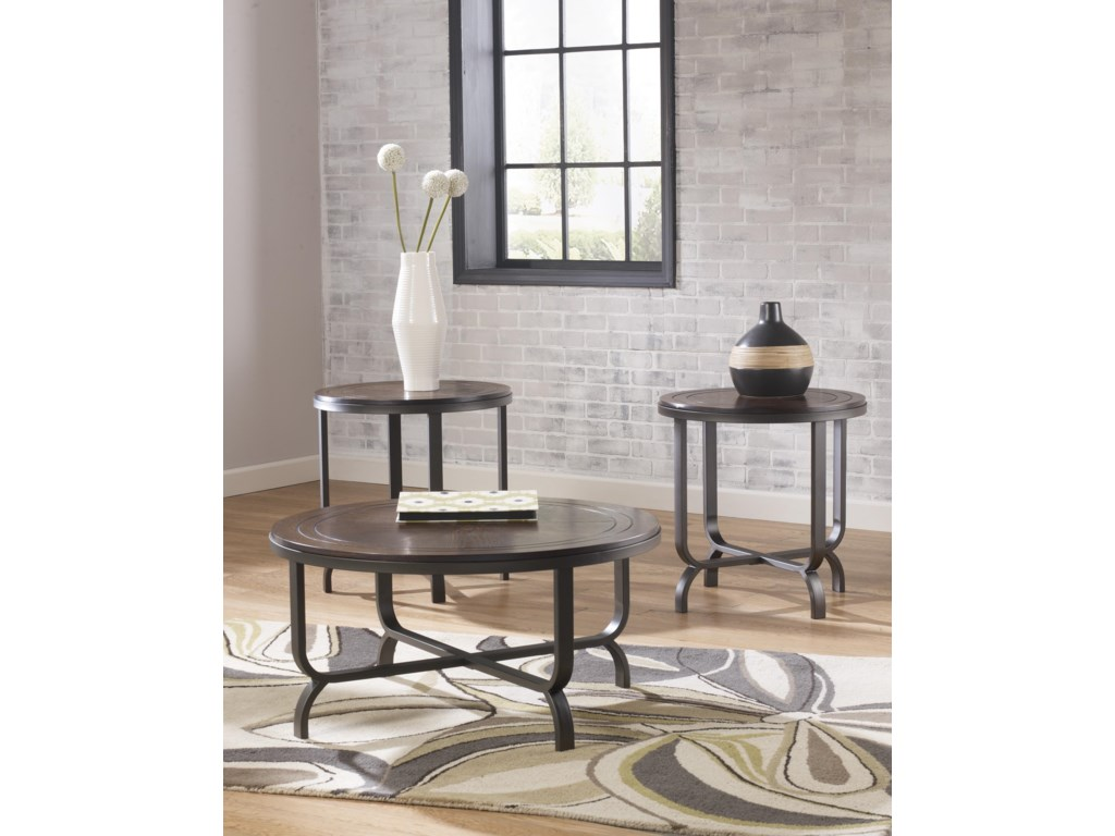 Signature Design by Ashley FerlinOccasional Table Set