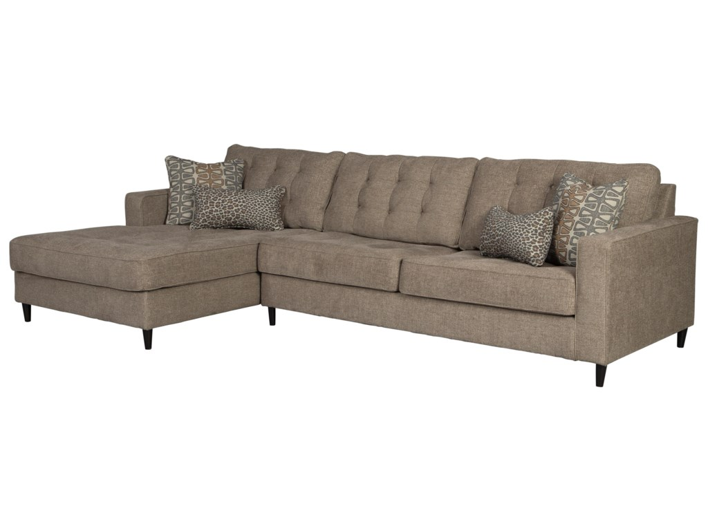 Signature Design by Ashley Flintshire3 Seat Sectional Sofa