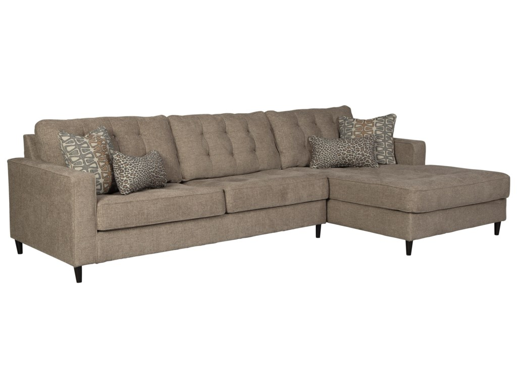 Flintshire 3 Seat Sectional Sofa w/ RAF Chaise