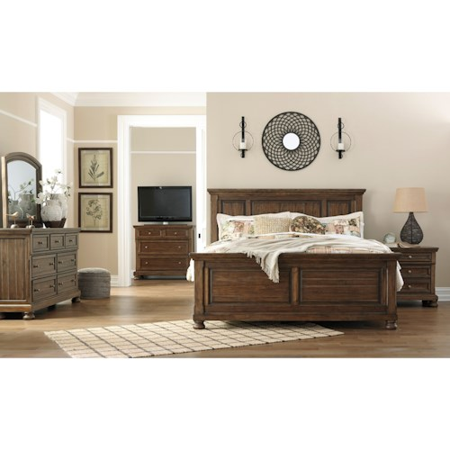 Signature Design by Ashley Flynnter King Bedroom Group
