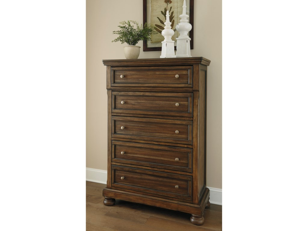 Ashley Signature Design FlynnterFive Drawer Chest