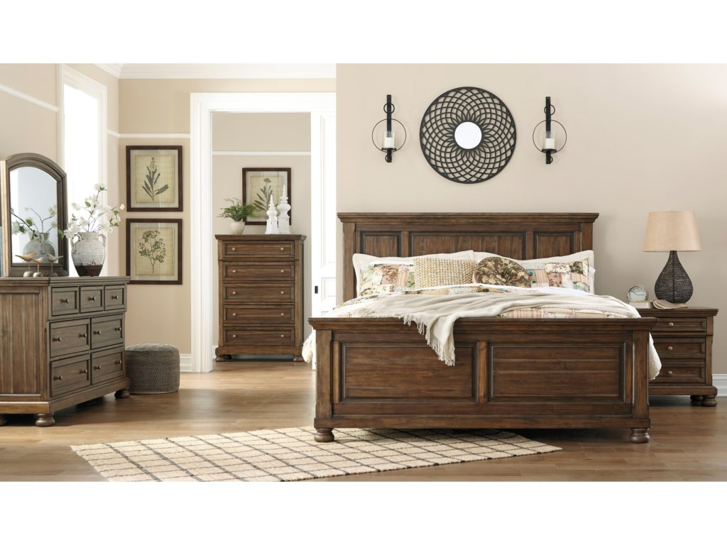 Signature Design by Ashley FlynnterQueen Panel Bed