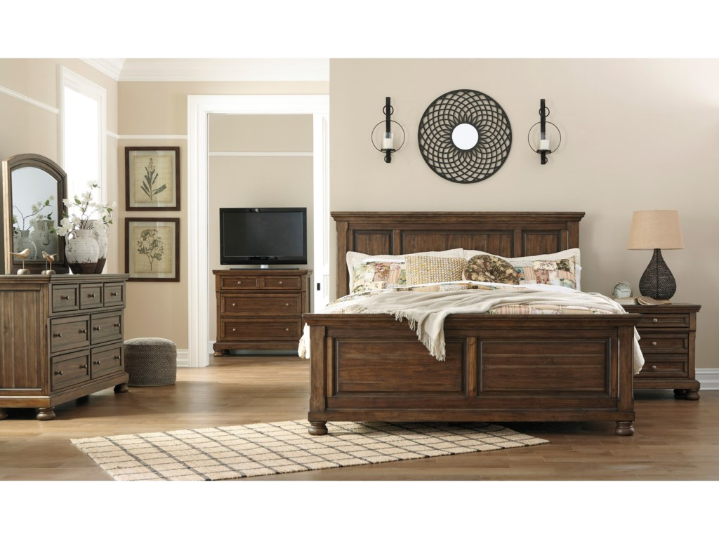 Ashley (Signature Design) FlynnterCalifornia King Panel Bed