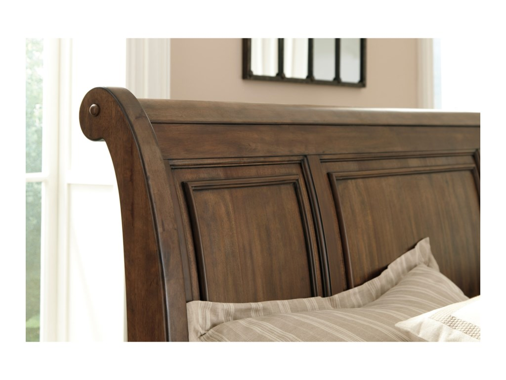 Signature Design by Ashley FlynnterQueen Sleigh Storage Bed