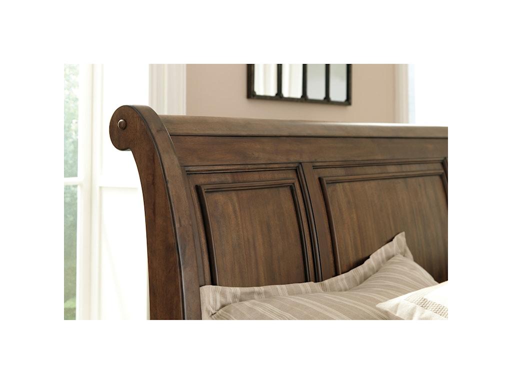 Ashley (Signature Design) FlynnterCalifornia King Sleigh Storage Bed