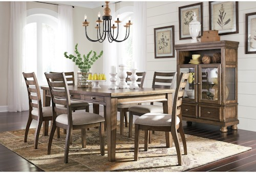 Signature Design by Ashley Flynnter Dining Room Group   Lindy\'s ...