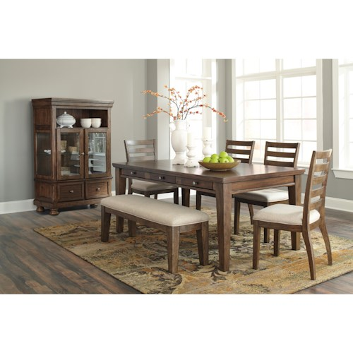Signature Design by Ashley Flynnter Casual Dining Room Group