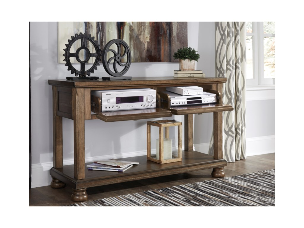 Signature Design by Ashley FlynnterConsole Sofa Table