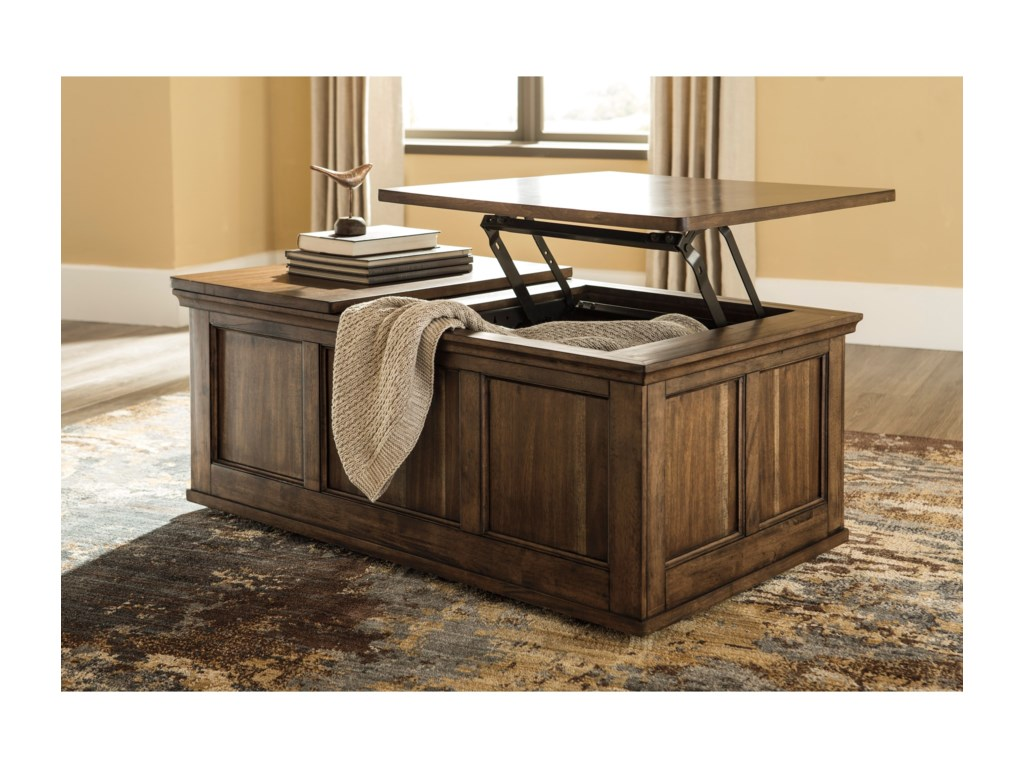 Ashley Signature Design FlynnterLift Top Cocktail Table