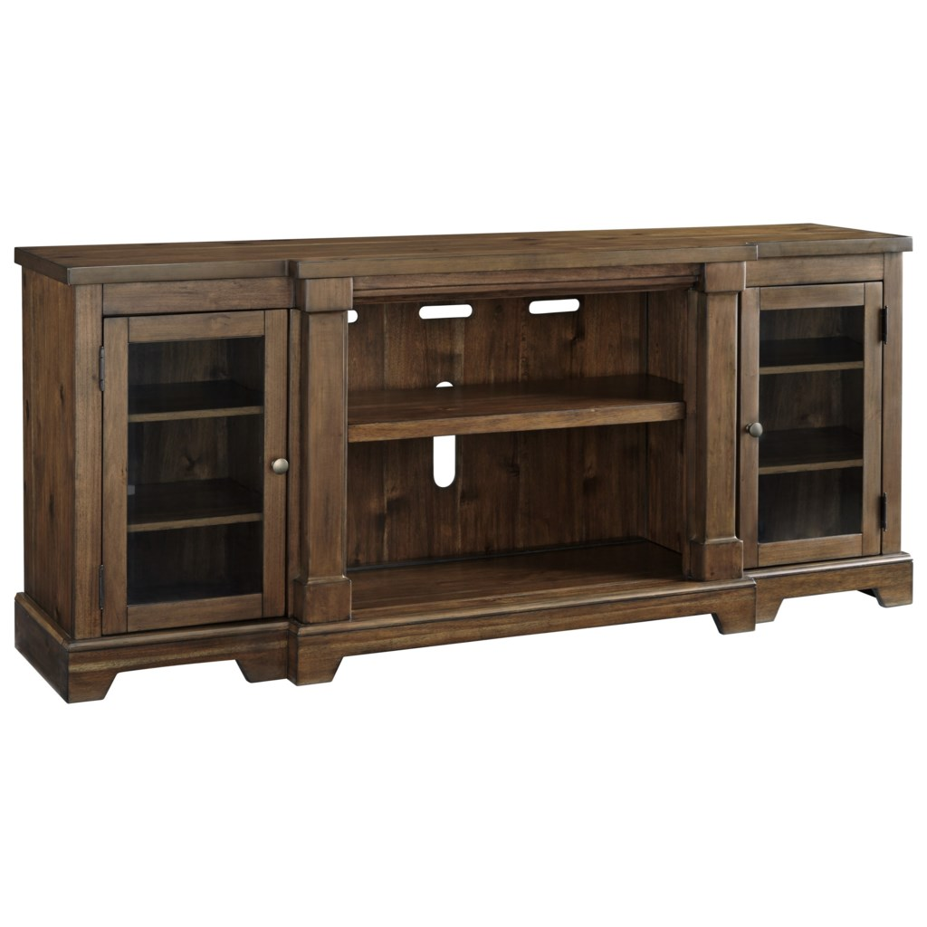 Signature Design By Ashley Flynnter Breakfront Extra Large Tv Stand