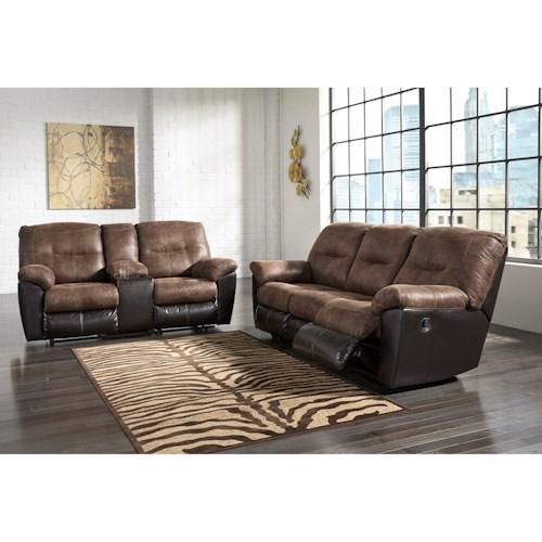 Signature Design by Ashley Follett Reclining Living Room Group
