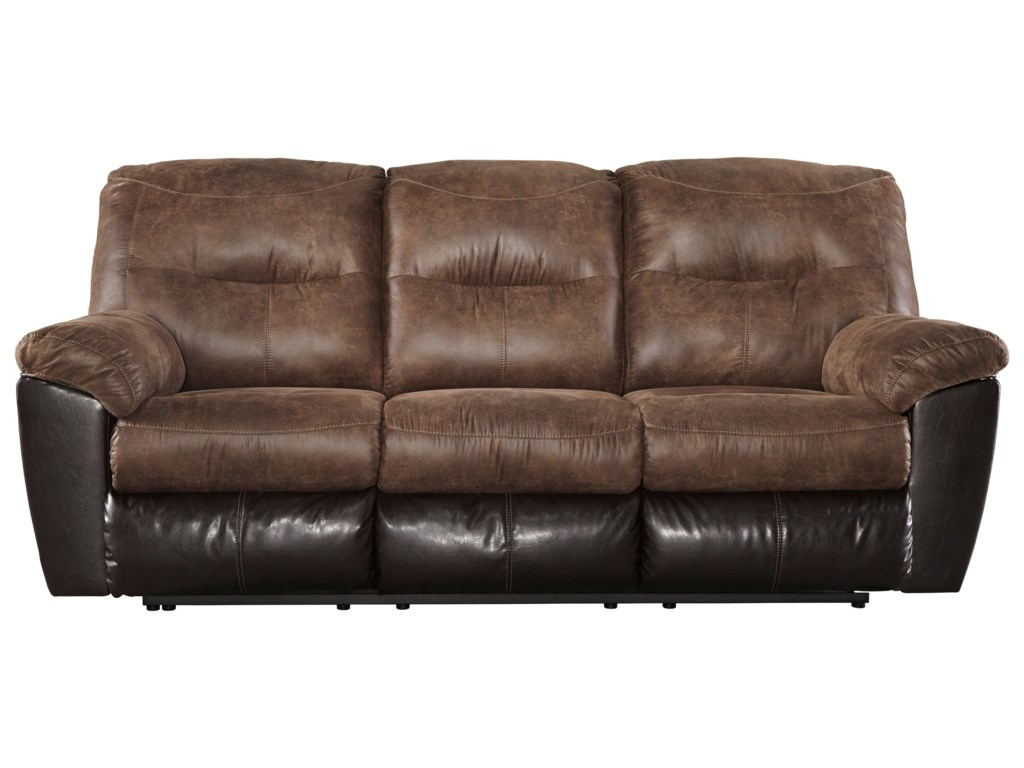 Ashley Reclining Sofa Ashley Quarterback Reclining Sofa Sofas Couches Home Thesofa