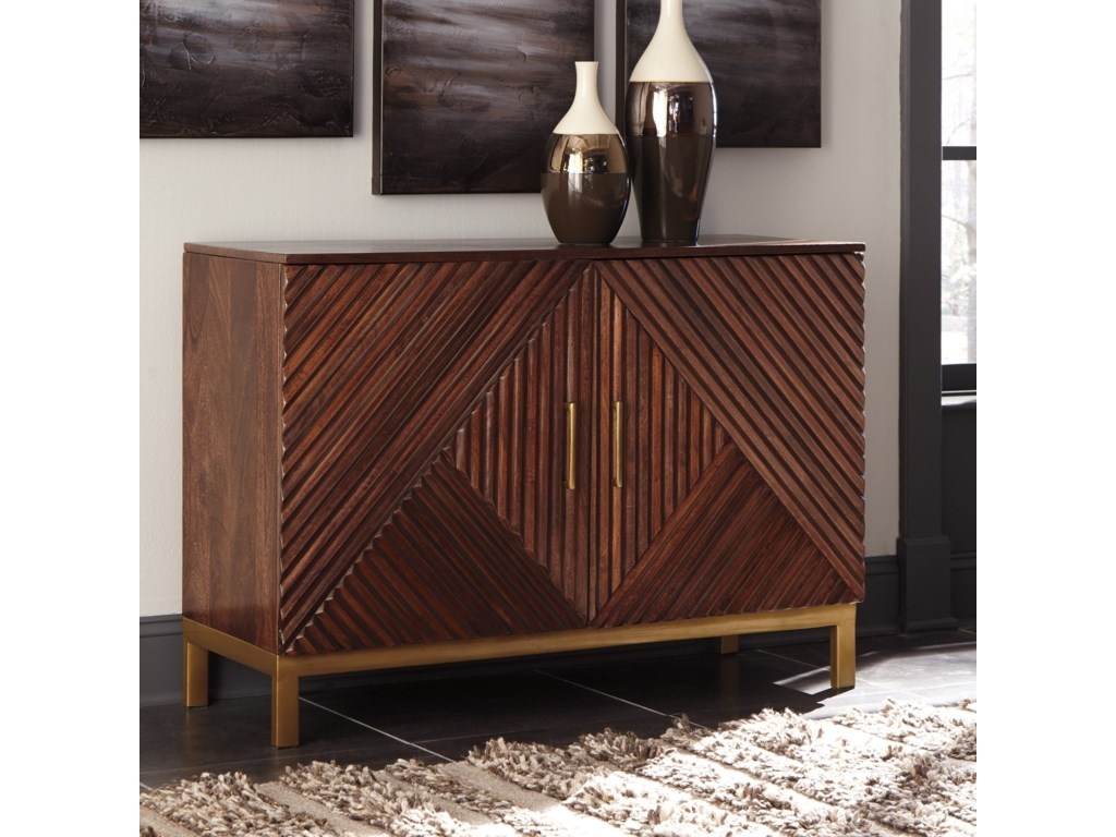 Signature Design by Ashley ForestminAccent Cabinet
