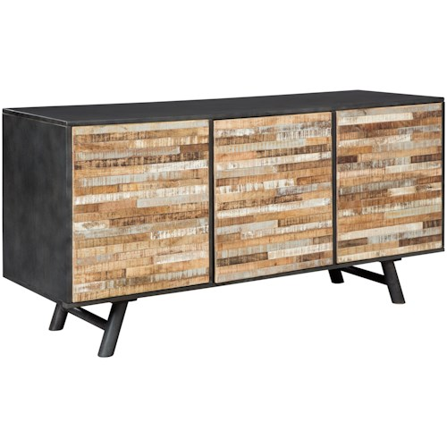 Signature Design by Ashley Forestmin Mid-Century Modern Accent Cabinet