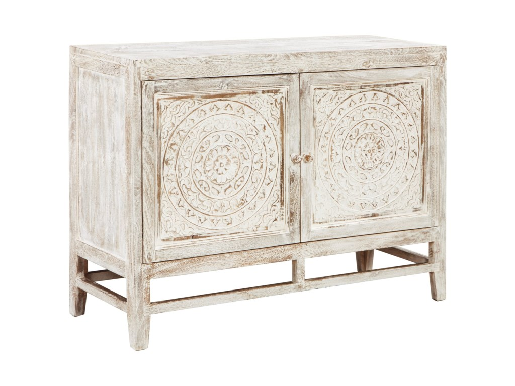 Signature Design by Ashley Fossil RidgeDoor Accent Cabinet