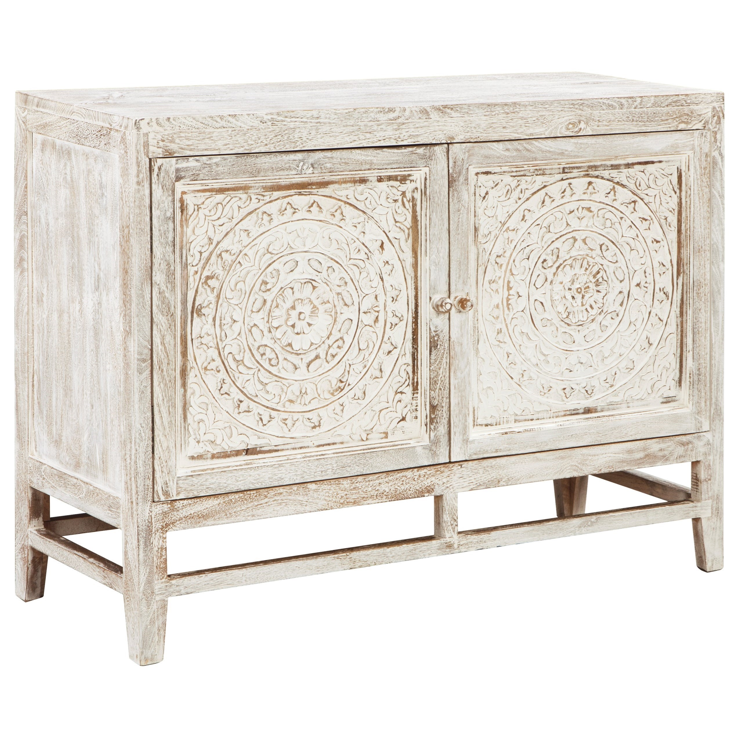 Ashley Signature Design Fossil RidgeDoor Accent Cabinet ...