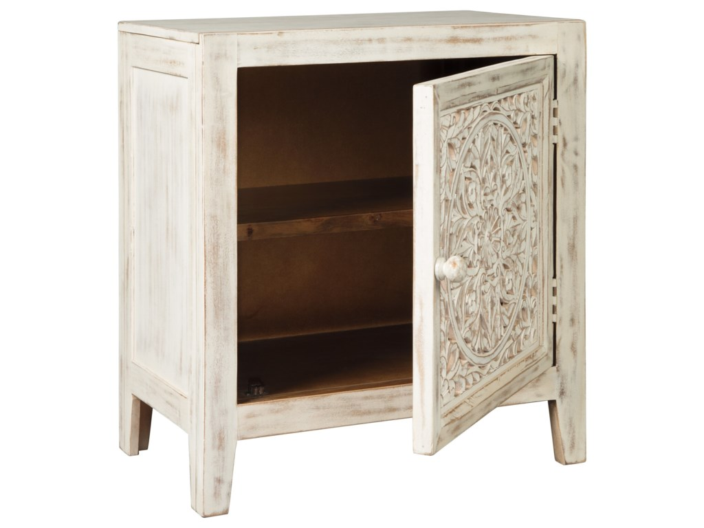 Signature Design by Ashley Fossil RidgeAccent Cabinet