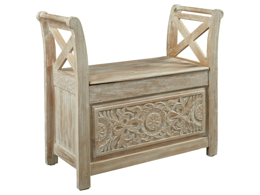 Signature Design by Ashley Fossil RidgeAccent Bench