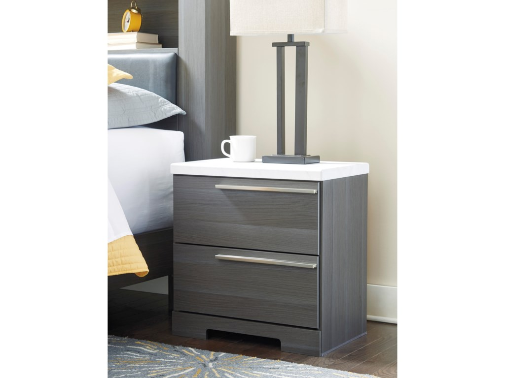 Signature Design by Ashley FoxvaleTwo Drawer Nightstand