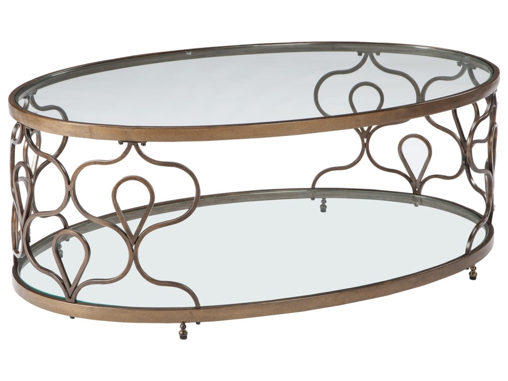 Signature Design by Ashley FraloniOval Cocktail Table