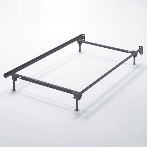 Signature Design by Ashley Frames and Rails Twin/Full Bolt on Bed Frame