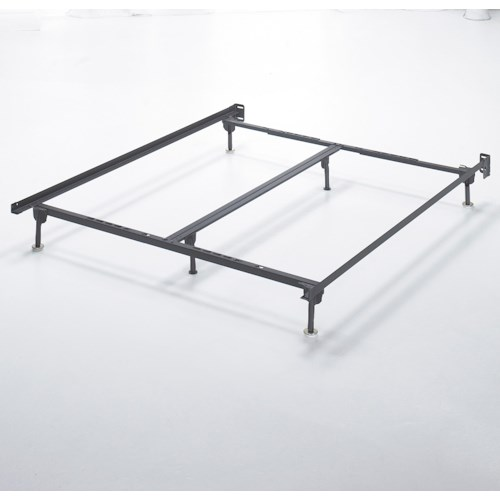 Signature Design by Ashley Frames and Rails Q/K/CK Bolt on Bed Frame