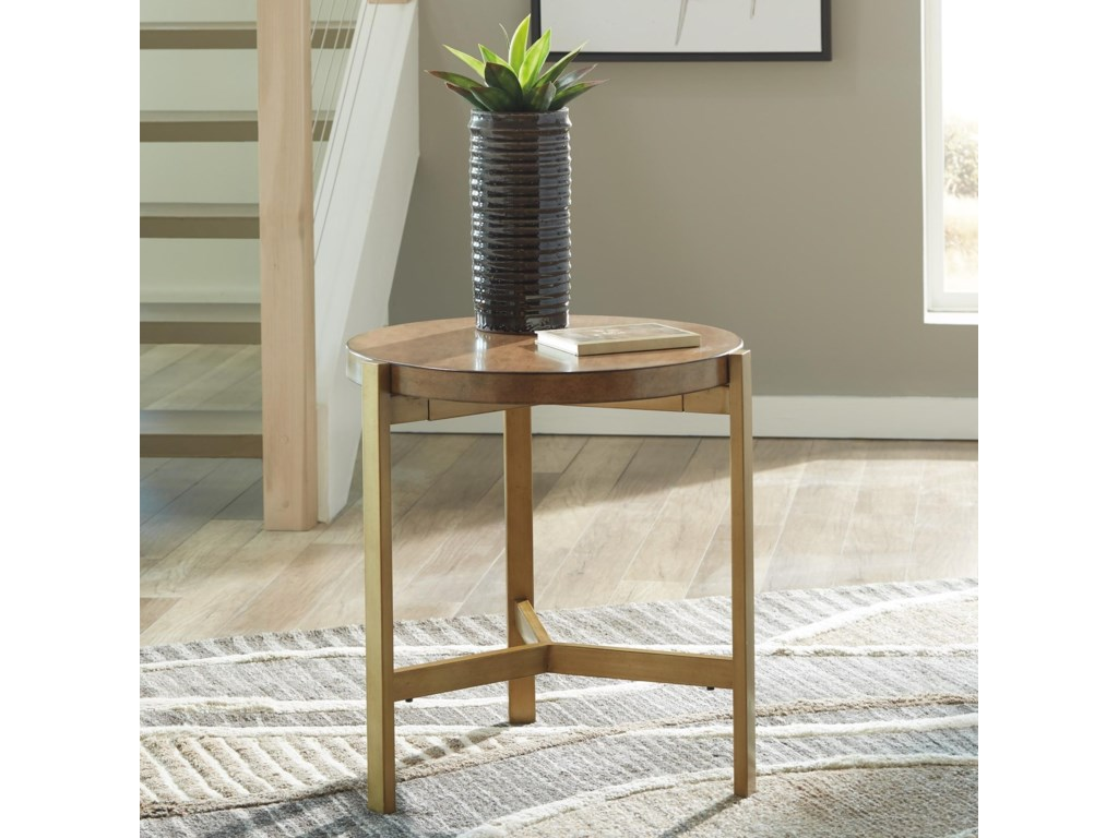 Signature Design by Ashley FranstonRound End Table