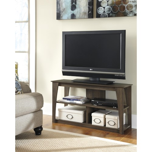 Signature Design by Ashley Frantin Rustic Style Television Stand