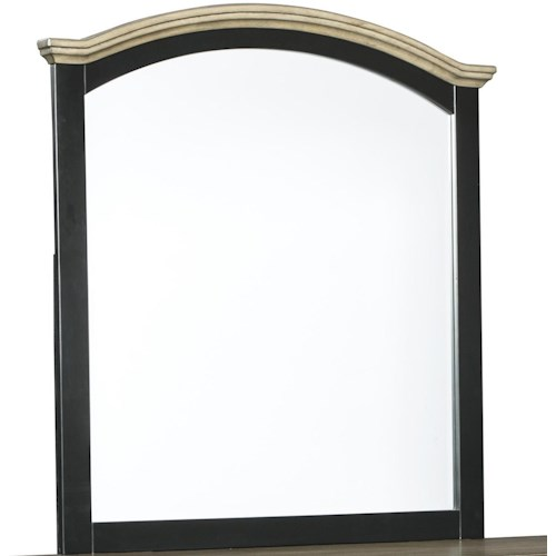 Signature Design by Ashley Froshburg Arched Bedroom Mirror