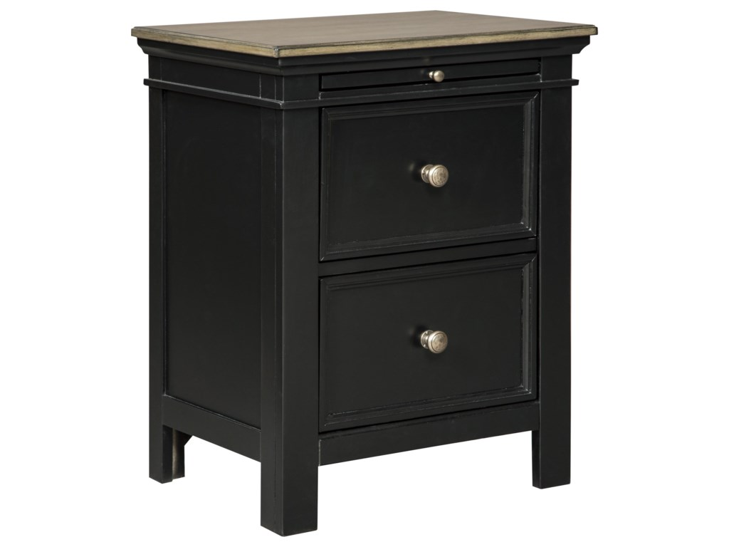 Signature design by ashley froshburg2 drawer night stand