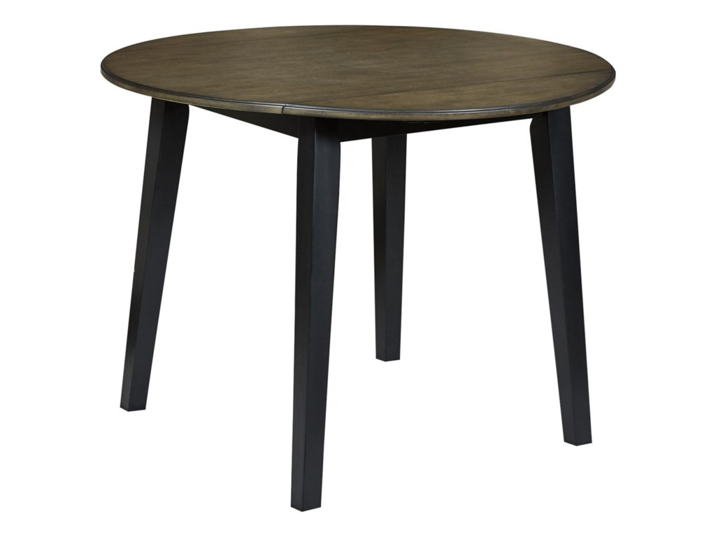 Signature Design by Ashley WildwoodRound Drop Leaf Table