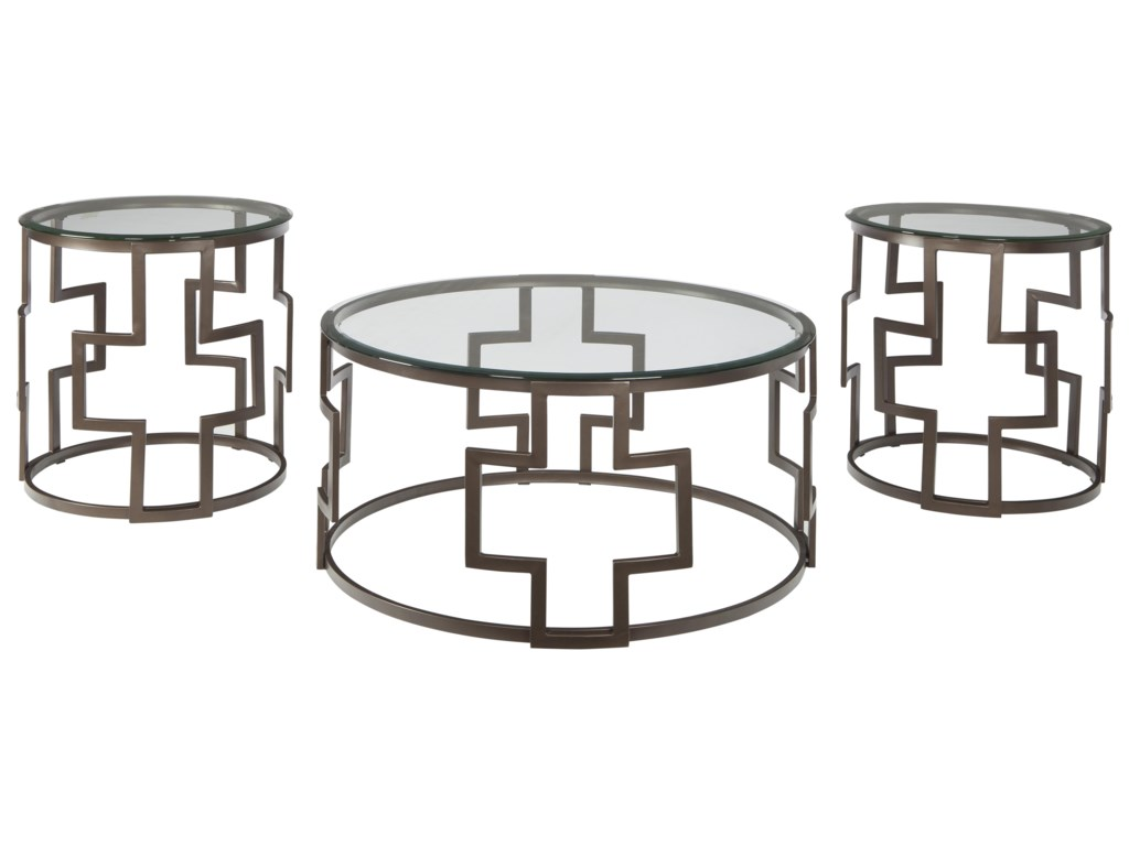 Signature Design by Ashley VistaOccasional Table Set