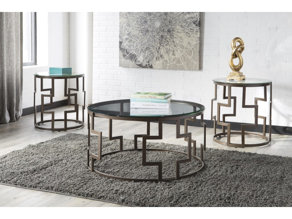 Signature Design by Ashley FrostineOccasional Table Set