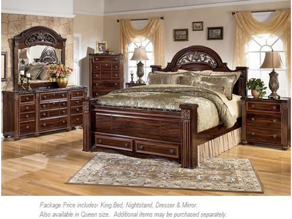 Signature Design By Ashley Gabriela 4pc King Bedroom Miskelly