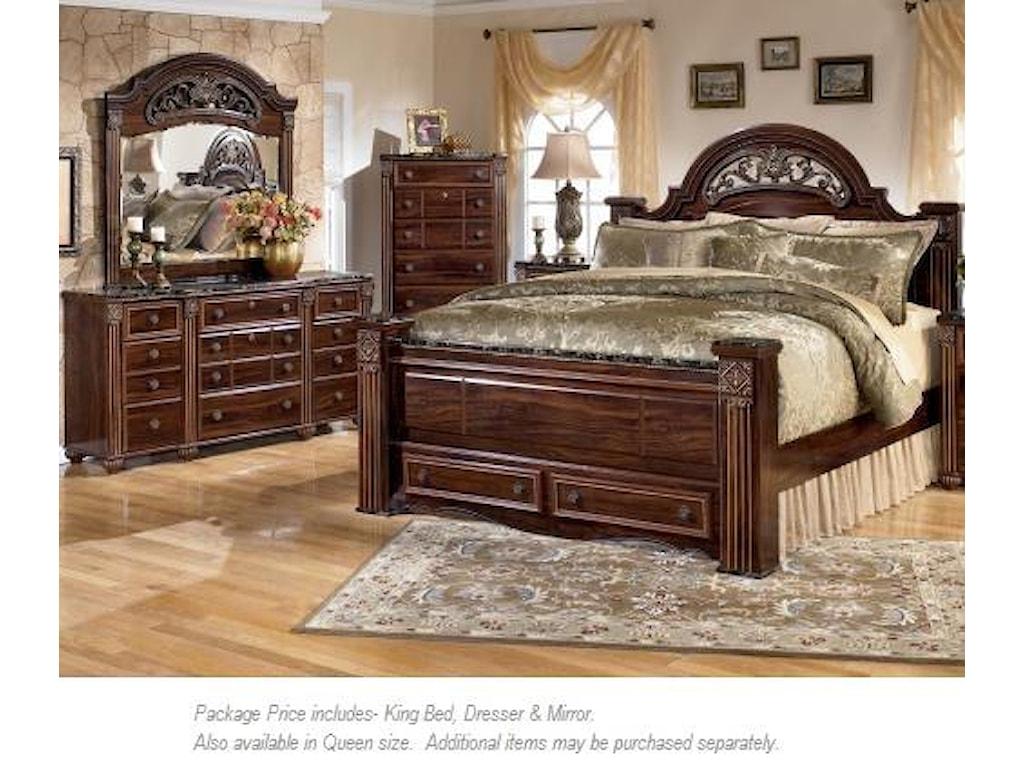 Signature Design by Ashley Gabriela3PC King Bedroom