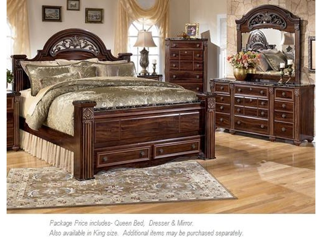 Signature Design by Ashley Gabriela3PC Queen Bedroom