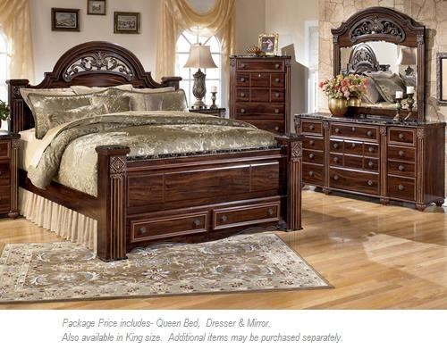 Signature Design by Ashley Gabriela 3PC Queen Bedroom | Miskelly ...